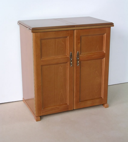 Rústico dos puertas color roble (Ref. 1057) | Muebles Gradín ...
